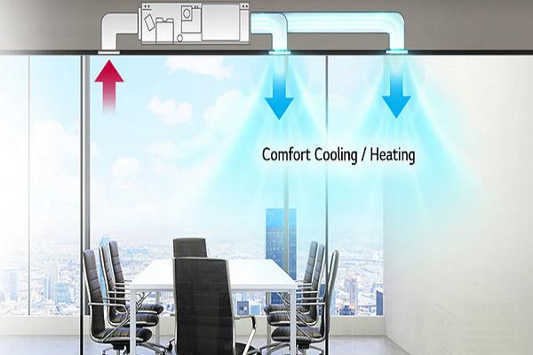 سیستم گرمایشی داکت اسپلیت